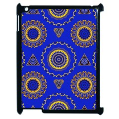 Abstract Mandala Seamless Pattern Apple iPad 2 Case (Black)