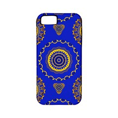 Abstract Mandala Seamless Pattern Apple Iphone 5 Classic Hardshell Case (pc+silicone)