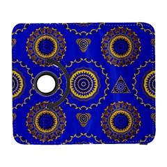 Abstract Mandala Seamless Pattern Galaxy S3 (flip/folio)