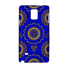 Abstract Mandala Seamless Pattern Samsung Galaxy Note 4 Hardshell Case