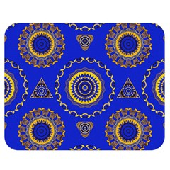 Abstract Mandala Seamless Pattern Double Sided Flano Blanket (Medium)