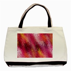 Red Seamless Abstract Background Basic Tote Bag