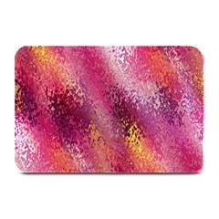 Red Seamless Abstract Background Plate Mats