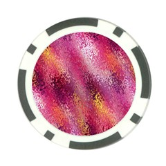 Red Seamless Abstract Background Poker Chip Card Guard