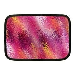 Red Seamless Abstract Background Netbook Case (medium)