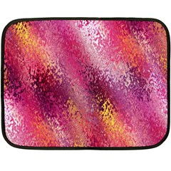 Red Seamless Abstract Background Fleece Blanket (mini)