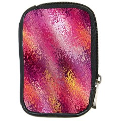 Red Seamless Abstract Background Compact Camera Cases