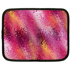 Red Seamless Abstract Background Netbook Case (XXL)