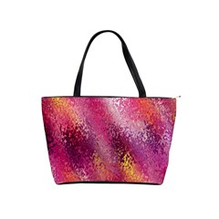 Red Seamless Abstract Background Shoulder Handbags