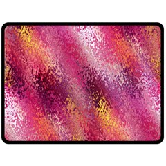 Red Seamless Abstract Background Fleece Blanket (Large)