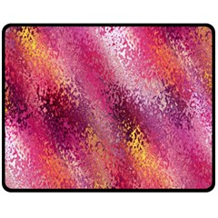 Red Seamless Abstract Background Fleece Blanket (medium)