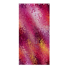 Red Seamless Abstract Background Shower Curtain 36  x 72  (Stall)