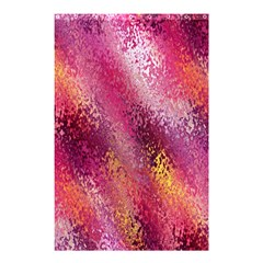 Red Seamless Abstract Background Shower Curtain 48  x 72  (Small)