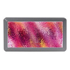 Red Seamless Abstract Background Memory Card Reader (Mini)
