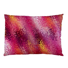 Red Seamless Abstract Background Pillow Case (Two Sides)
