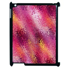 Red Seamless Abstract Background Apple Ipad 2 Case (black)