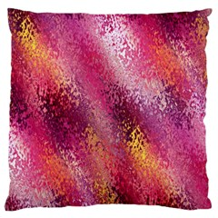 Red Seamless Abstract Background Large Cushion Case (two Sides)