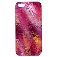 Red Seamless Abstract Background Apple iPhone 5 Hardshell Case