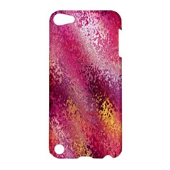Red Seamless Abstract Background Apple iPod Touch 5 Hardshell Case