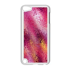 Red Seamless Abstract Background Apple Ipod Touch 5 Case (white)