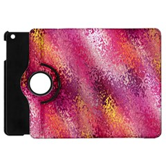 Red Seamless Abstract Background Apple iPad Mini Flip 360 Case