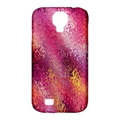 Red Seamless Abstract Background Samsung Galaxy S4 Classic Hardshell Case (PC+Silicone)