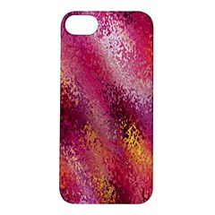 Red Seamless Abstract Background Apple Iphone 5s/ Se Hardshell Case