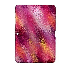Red Seamless Abstract Background Samsung Galaxy Tab 2 (10 1 ) P5100 Hardshell Case
