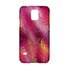 Red Seamless Abstract Background Samsung Galaxy S5 Hardshell Case