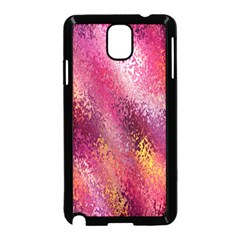 Red Seamless Abstract Background Samsung Galaxy Note 3 Neo Hardshell Case (Black)