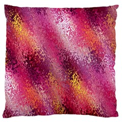 Red Seamless Abstract Background Large Flano Cushion Case (one Side)