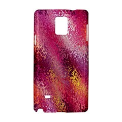 Red Seamless Abstract Background Samsung Galaxy Note 4 Hardshell Case