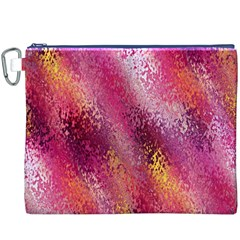 Red Seamless Abstract Background Canvas Cosmetic Bag (XXXL)