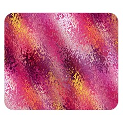 Red Seamless Abstract Background Double Sided Flano Blanket (small)