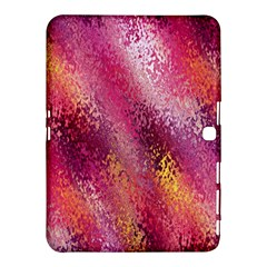 Red Seamless Abstract Background Samsung Galaxy Tab 4 (10.1 ) Hardshell Case