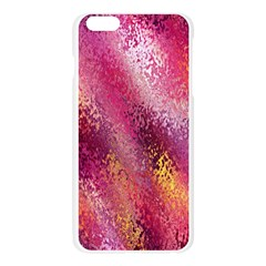 Red Seamless Abstract Background Apple Seamless iPhone 6 Plus/6S Plus Case (Transparent)