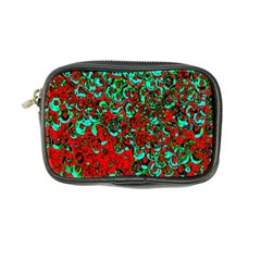 Red Turquoise Abstract Background Coin Purse