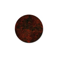 Olive Seamless Abstract Background Golf Ball Marker