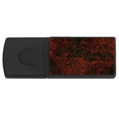 Olive Seamless Abstract Background USB Flash Drive Rectangular (1 GB)