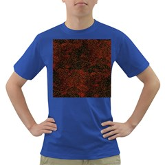 Olive Seamless Abstract Background Dark T Shirt