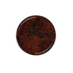 Olive Seamless Abstract Background Hat Clip Ball Marker (4 Pack)