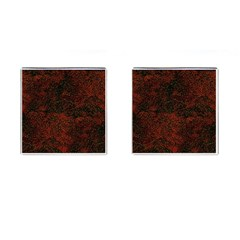 Olive Seamless Abstract Background Cufflinks (square)