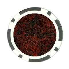 Olive Seamless Abstract Background Poker Chip Card Guard