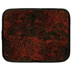 Olive Seamless Abstract Background Netbook Case (Large)