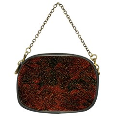 Olive Seamless Abstract Background Chain Purses (one Side)