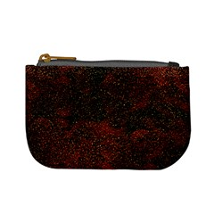 Olive Seamless Abstract Background Mini Coin Purses