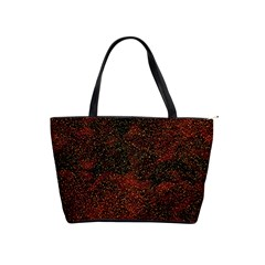 Olive Seamless Abstract Background Shoulder Handbags