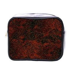 Olive Seamless Abstract Background Mini Toiletries Bags