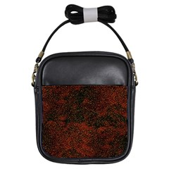 Olive Seamless Abstract Background Girls Sling Bags