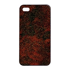 Olive Seamless Abstract Background Apple iPhone 4/4s Seamless Case (Black)